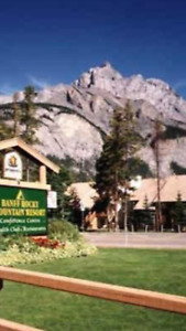 One night, July 21st @ Banff Rocky Mountain 1 bedroom apartment