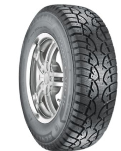 Practically New235 70R 16 Studded Winter Tires on Rims