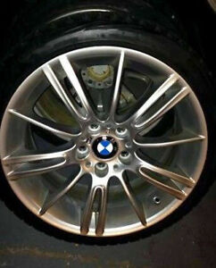 "OEM 18"" BMW M sport wheels from 2011 335i"