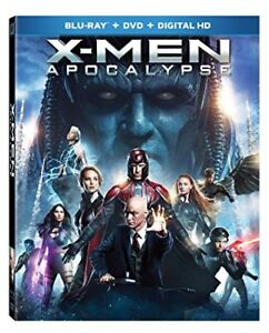 X-Men Apocalypse Blu Ray DVD