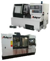 NEW- CNC - MACHINING CENTER/MILL & TURNING CENTER/LATHE