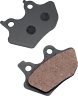 LYNDALL RACING BRAKE DUAL PADS Z+  for HARLEY 00-07 -3 SETS replaces HD44082-00D
