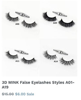 HIGH QUALITY MINK LASHES DELIVERED TO YOUR DOOR