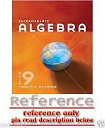 Intermediate Algebra 9th Edition