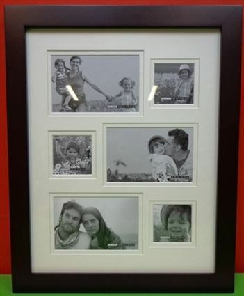 Carlton 6 Photo Collage Picture Frame Brand New Home