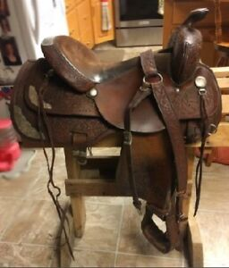Beautiful Western Saddle for Sale $1100