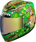 Icon Green DOT Helmets