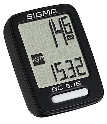 Sigma BC 5.16 kabelgebundener Fahrradcomputer Tacho 5-Funktionen - 05160 online kaufen