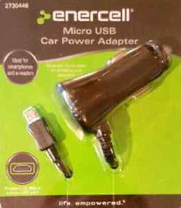 Micro USB Car Charger for phones, tablets