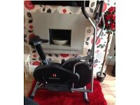 Cross Trainer/Bike combo - hardly used, excellent condition