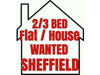 2/3 Bed Flat / House WANTED for Rent