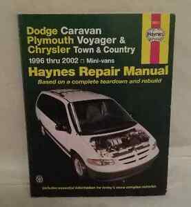 Haynes Repair Manual: Dodge Caravan-Plymouth Voyager-Chrysler