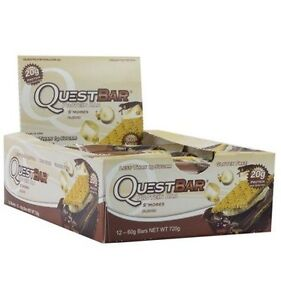 Quest Bar Box -Smores and Cookies in Cream