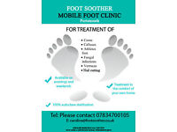 Foot Soother - mobile foot health clinic in the Portsmouth area