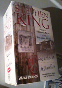 Hearts in Atlantis by Stephen King CASSETTE TAPE AUDIO BOOK