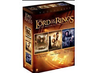 Lord of the rings trilogy dvd boxset (NEW sealed)