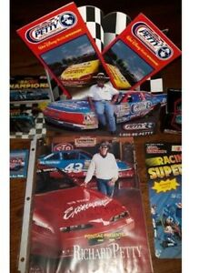 HUGE Richard Petty collection Die cast cars Store display & More