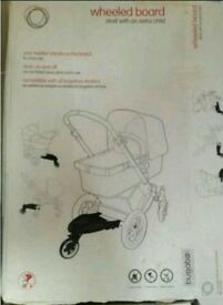 Wheeled board for bugaboo pram almost brand new