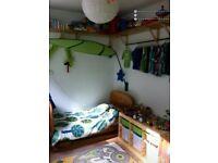 Ikea lova leaf bed canopy