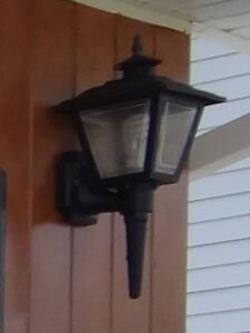 Three Exterior Light Fixtures for sale in Stephenville