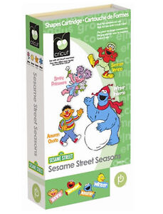 SESAME-STREET-SEASONS-Cricut-Cartridge-BRAND-NEW