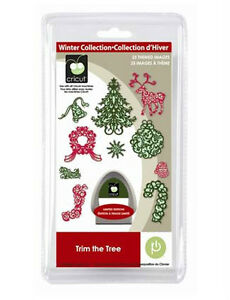 Cricut Trim the Tree Seasonal Cartridge - $35