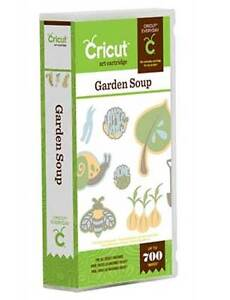 Cricut Garden Soup Cartridge - $40