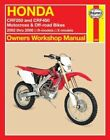 Motorcycle Manuals and Literature CRF 2002 Year of Publication Repair