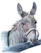 Gemälde Pferd