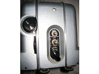 OMO LUCH 2 USSR 8MM CINE FILM PROJECTOR +SCREEN IN GOOD & CLEAN WORKING ORDER-35 POUNDS