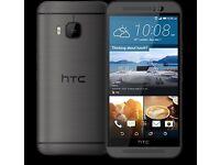 HTC one M9 new unlocked 32gb