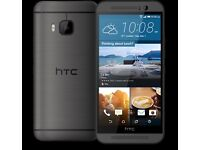 HTC One M9 Grey, Silver (Unlocked) Smartphone in good condition