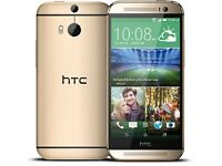 HTC ONE M8 GOLD EDITION
