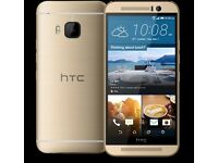 HTC M9 32GB UNLOCKED BRAND NEW CONDITION COMES WITH WARRANTY & RECEIP