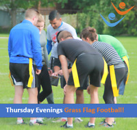 Play Co-ed, Recreational, Flag Football with RCSSC this Summer!