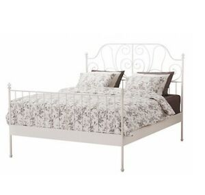 Double sized bed frame
