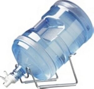 Metal Cradle with Spigot for Bottle Water, New with Tags!