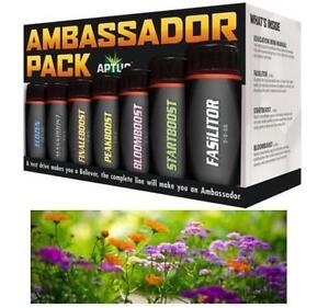 NEW APTUS PLANT FERTILIZER KIT Ambassador Pack - 100 mL PATIO LAWN GARDENING 106900170