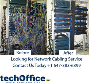 Looking  for Network cabling service