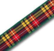 Wide Tartan Ribbon