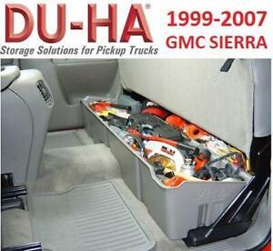 NEW DU-HA UNDER SEAT STORAGE UNIT 10001 237791264 TRUCK CAB STORAGE FITS CHEVY SILVERADO GMC SIERRA SEE COMMENTS