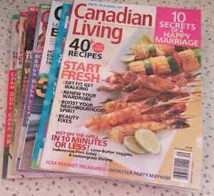7 Canadian Living Magazines