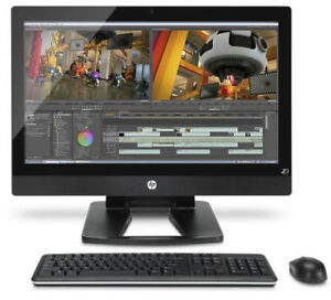 """HP Z1 Workstation 27"""" All in one computer"""