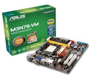 Asus motherboard & 4-core processor