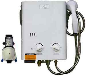 Eccotemp L5 Tankless Water Heater Bundle (w/ 12V pump)