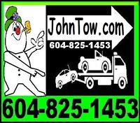 TOWING(JohnTow.com)604*825+1453Tow Truck AGASSIZ,Harrison,ABSFRD