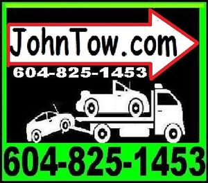 #1 (TOWING)*604-825-1453(FLAT DECK TOW TRUCK)FLAT RATES