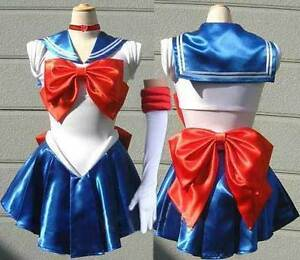 Sailor Moon Cosplay Costume, Size US14