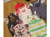 0-3 month baby boy clothes dungaree bundle