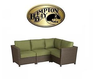 NEW HAMPTON BAY PATIO SET - 116096618 - DELARONDE SECTIONAL